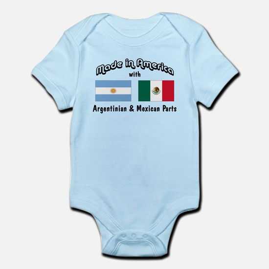 Argentinian-Mexican Infant Bodysuit