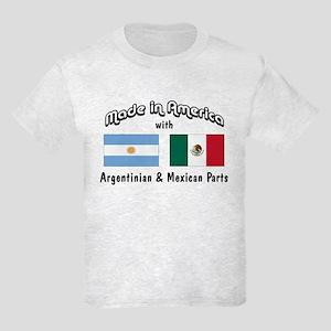 Argentinian-Mexican Kids Light T-Shirt