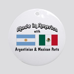Argentinian-Mexican Ornament (Round)
