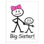 Big Sister Small Poster