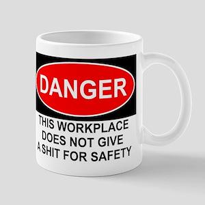 Danger Sign Mug