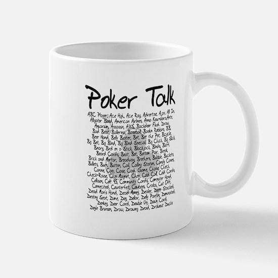 Poker Talk (Poker Terms) Mug