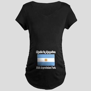 Argentinian Parts Maternity Dark T-Shirt