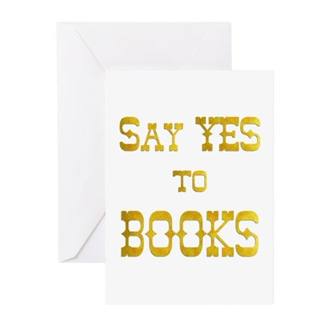 Yes to Books Greeting Cards (Pk of 20)