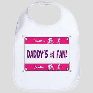 Daddy's #1 Fan Bib