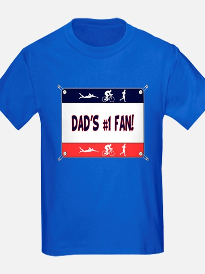 Dad's #1 Fan T