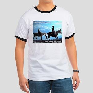 Trail Riding Mules Ringer T