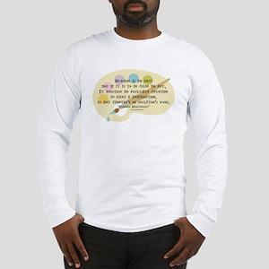 Nursing is an Art Long Sleeve T-Shirt