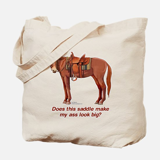 Ass Look Big Mule Tote Bag