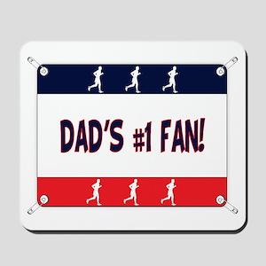 Dad's #1 Fan Running Mousepad