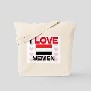 I Love Yemen Tote Bag
