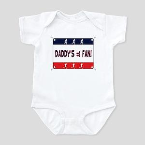 Daddy's #1 Fan - Running Infant Bodysuit