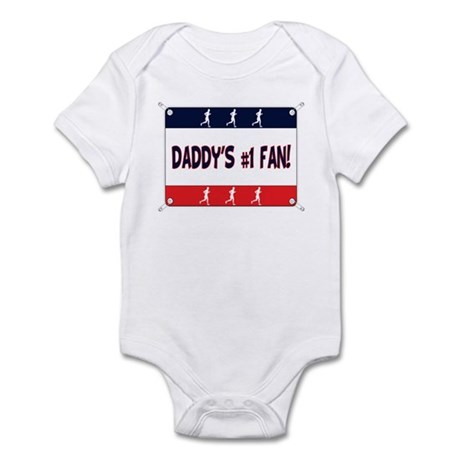 Daddy's #1 Fan - Running Infant Bodysuit