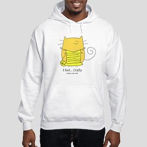 I feel... Crafty Hooded Sweatshirt