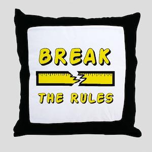 FUNNY TEES Throw Pillow
