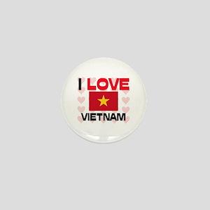 I Love Vietnam Mini Button
