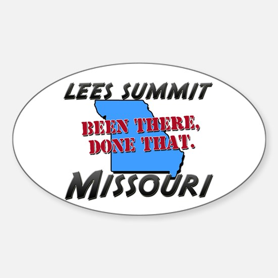 lees summit missouri - been there, done that Stick
