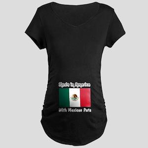 Mexican Parts Maternity Dark T-Shirt