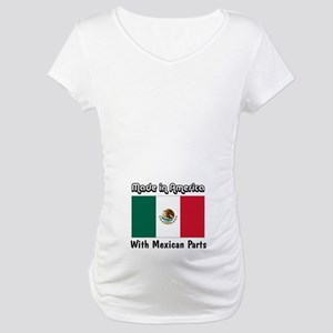 Mexican Parts Maternity T-Shirt