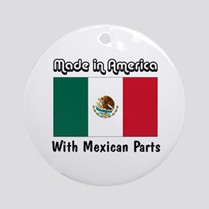 Mexican Parts Ornament (Round)