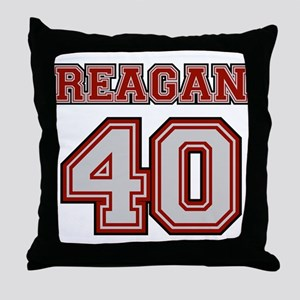 Reagan #40 Throw Pillow