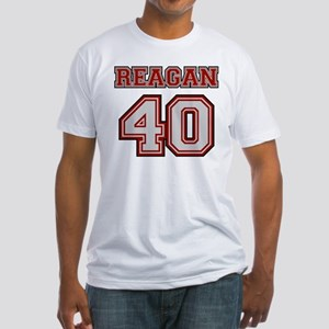 Reagan #40 Fitted T-Shirt