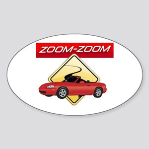 Miata MX-5 Oval Sticker