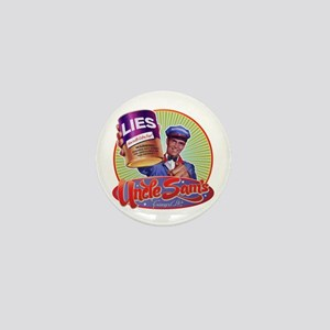 Uncle Sam's Canned Lies Mini Button