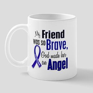 Angel 1 FRIEND (She) Colon Cancer Mug