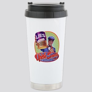 Uncle Sam's Canned Lies Stainless Steel Travel Mug