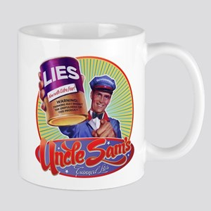 Uncle Sam's Canned Lies Mug