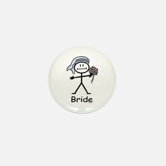 Bride Mini Button