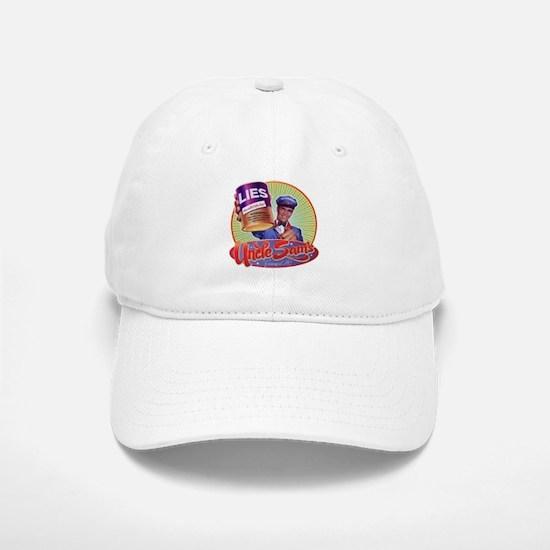 Uncle Sam's Canned Lies Baseball Baseball Cap