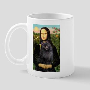 Mona / Schipperke Mug
