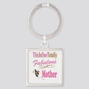 Fabulous Mother Square Keychain
