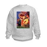 Mandolin / Schipperke #5 Kids Sweatshirt