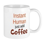 Instant Human Mugs