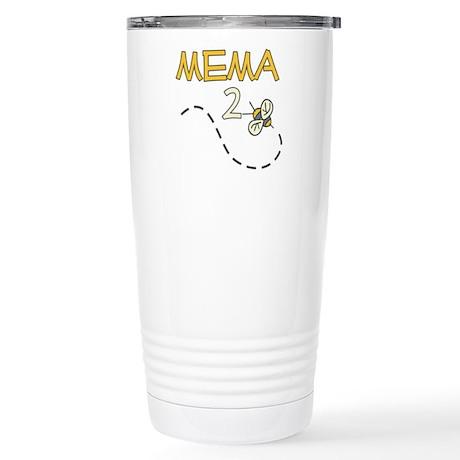 Mema to Be (Bee) Stainless Steel Travel Mug