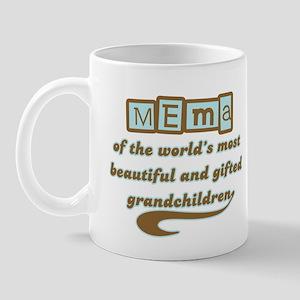 Mema of Gifted Grandchildren Mug