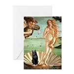Venus / Schipperke #5 Greeting Card