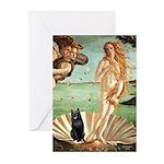 Venus / Schipperke #5 Greeting Cards (Pk of 10)