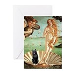 Venus / Schipperke #5 Greeting Cards (Pk of 20)