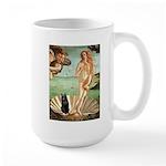 Venus / Schipperke #5 Large Mug