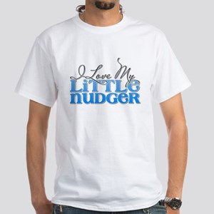 Love My Nudger White T-Shirt