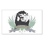 Lion king Rectangle Sticker 10 pk)