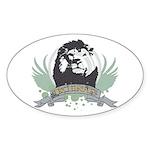 Lion king Oval Sticker (10 pk)