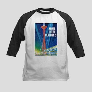 """""""SPACE NEEDLE"""" Kids Baseball Jersey"""