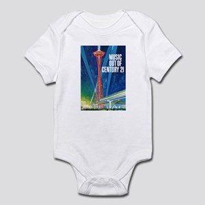 """SPACE NEEDLE"" Infant Bodysuit"