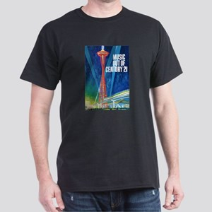 """SPACE NEEDLE"" Dark T-Shirt"