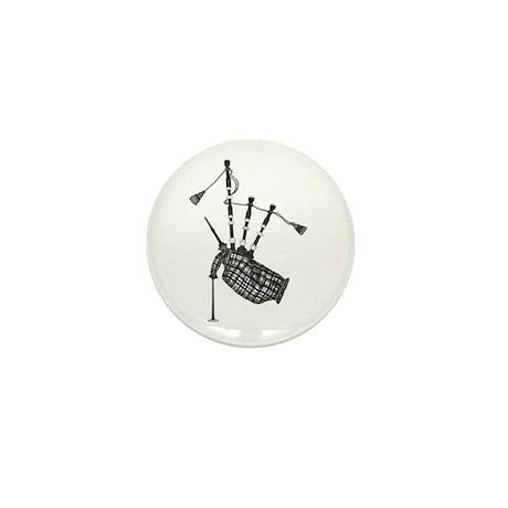 bagpipe Mini Button